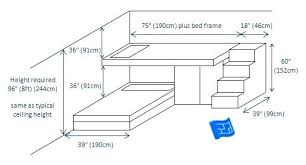 Bunk Bed Plans With Stairs Futon Bunk Bed Plans With Stairs Built In Bunk Beds 2 Bunks L