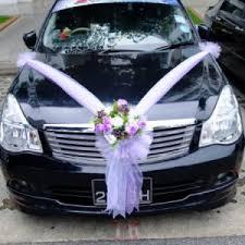 Diy Car Decor Wedding Car Decoration Ideas Pictures