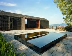 lake view home blends in with landscape in valle de bravo