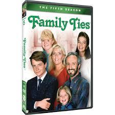 family ties the fifth season dvd