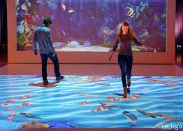 living aquarium life like virtual fish tank vertigo systems gmbh