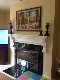 diy kid proofing fireplace screen cover using inexpensive poster