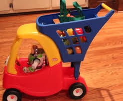 here comes santa claus little tikes cozy coupe shopping cart