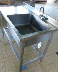 plaque d inox pour cuisine meuble evier inox plaque d inox pour cuisine 11 evier inox 1 bac