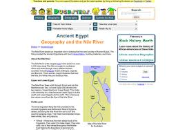 Egypt Project   Nile River   Lessons   TES Teach TES