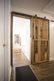 How To Build A Shed Out Of Wooden Pallets by Pallet Sliding Barn Doors 5 Steps