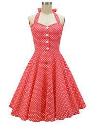 1950 u0027s vintage polka dots swing summer dress green polka dot