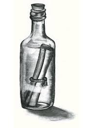 message in a bottle by necrisidragon on deviantart