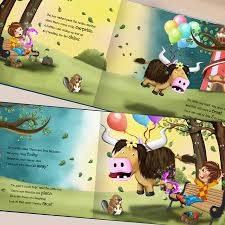 personalised keepsake story book for children by my magic name