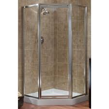 4 Shower Door Foremost Tides 16 3 4 In X 24 In X 16 3 4 In X 70 In Framed
