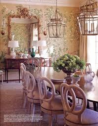 wallpapered dining rooms justjanblog