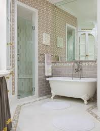 bathroom pink pedestal sink in retro bathroom decor and glass