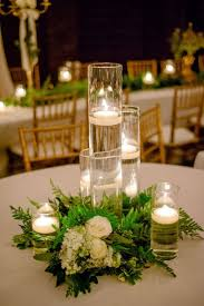 decorations glass table centre pieces wine glass table