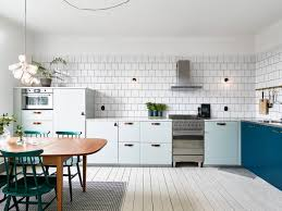 kitchen in mint and petrol coco lapine designcoco lapine design