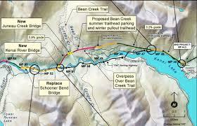 Mccarthy Alaska Map by Alaska Journal Path Chosen For Cooper Landing Bypass