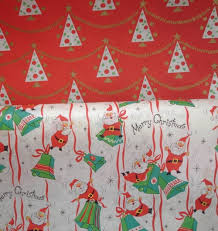 christmas wrapping paper the vintage traveler