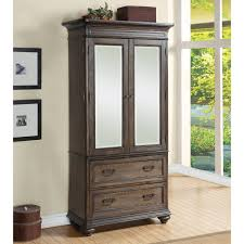 Discount Armoires Universal Furniture Playlist Mirrored Armoire Hayneedle