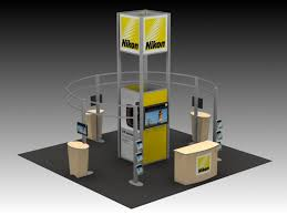 photo booth rental island exhibit design search re 9027 nikon island rental displays