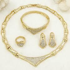 crystal design necklace images Sales cz dubai fashion charm women gold necklace luxury crystal jpg