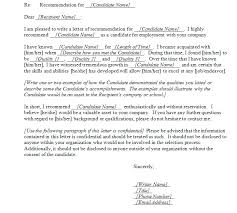 best photos of letter of recommendation template word reference