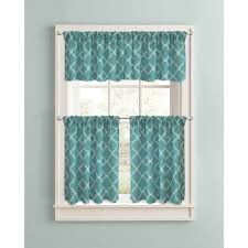Green And White Gingham Curtains by Kitchen Curtains Walmart Com