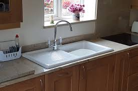 overmount sink on granite granite marble kitchen worktops from adl granite marble shropshire