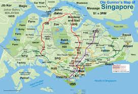 Map Showing Equator Heres A Map Of Singapore In Its Funniest Most Politically Map Of