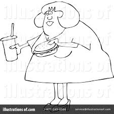 obese clipart 1093119 illustration by djart