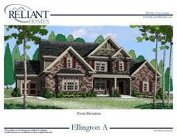 Ellington Floor Plan Ellington A Se Reliant Homes New Homes In Atlanta