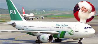 journalists jobs in pakistan airlines international watch what happens next when santa claus lands in pia flight