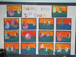 mrs t u0027s first grade class sailing into second grade