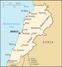 beirut on map lebanon completes informations map booking hotel in lebanon