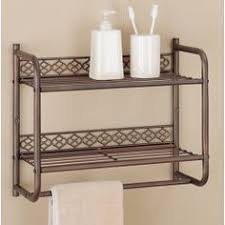 Wall Mounted Bathroom Shelves Bold And Modern Wall Mounted Bathroom Shelves Simple Decoration
