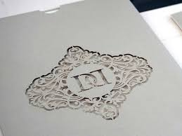 laser cut wedding programs bespoke laser cut wedding invitations uk intricate creations