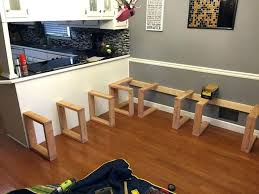 diy dining table bench building a dining room table lauermarine com