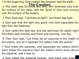 genesis 1 new american standard bible the creation 1 in the