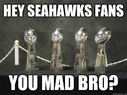 Seahawks Fan Meme - hey seahawks fans you mad bro packers response quickmeme