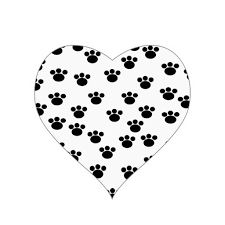 lace heart paw print tattoo photos pictures and sketches