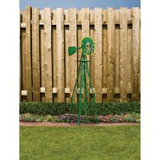 4ft ornamental garden windmill green and yellow www kotulas