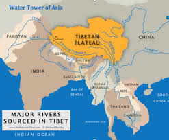 worlds rivers map rivers with himalayan origins are susceptible to atmospheric warming