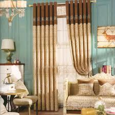 rideaux de chambre à coucher décoratif moderne beige brun chambre à coucher rideaux chambre