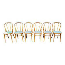 Cafe Style Dining Chairs Vintage U0026 Used Rattan Dining Chairs Chairish