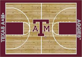 Lsu Area Rugs College Basketball Court Collection U003cbr U003e100 Stainmaster Stain