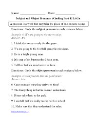 6th grade common core language worksheets englishlinx com