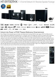 onkyo 7 1 home theater system 7 1 channel a v receiver speaker ht s9700thx onkyo