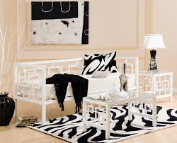 greek key style metal daybeds instyle furnishings