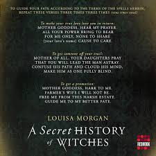 a secret history of witches louisa morgan 9780316508551 amazon