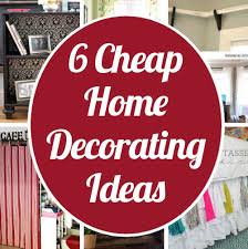 diy home sweet home cheap home decorating ideas