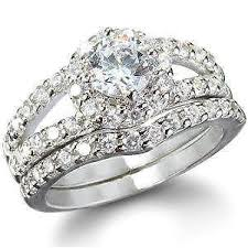 ebay wedding ring sets wedding set ebay