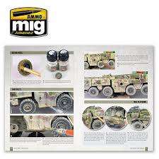 tws how to paint 1 72 military vehicles english ammo by mig